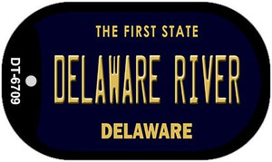 Delaware River Wholesale Novelty Metal Dog Tag Necklace DT-6709