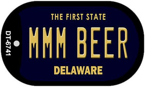 MMM Beer Delaware Wholesale Novelty Metal Dog Tag Necklace DT-6741