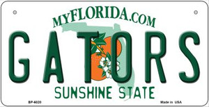 Gators Florida Wholesale Novelty Metal Bicycle Plate BP-6020