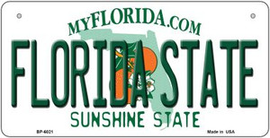 Florida State University Wholesale Novelty Metal Bicycle Plate BP-6021