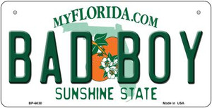 Bad Boy Florida Wholesale Novelty Metal Bicycle Plate BP-6030