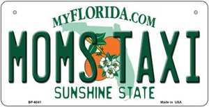 Moms Taxi Florida Wholesale Novelty Metal Bicycle Plate BP-6041