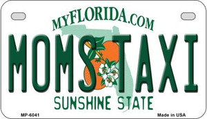 Moms Taxi Florida Wholesale Novelty Metal Motorcycle Plate MP-6041