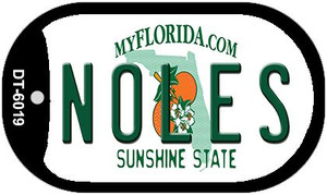Noles Florida Wholesale Novelty Metal Dog Tag Necklace DT-6019