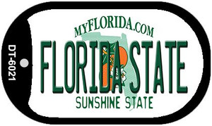 Florida State University Wholesale Novelty Metal Dog Tag Necklace DT-6021