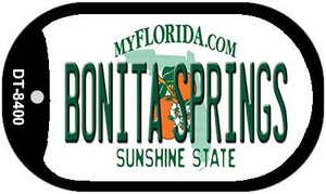 Bonita Springs Florida Wholesale Novelty Metal Dog Tag Necklace DT-8400