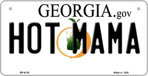 Hot Mama Georgia Wholesale Novelty Metal Bicycle Plate BP-6135