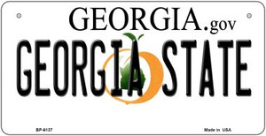 Georgia State University Wholesale Novelty Metal Bicycle Plate BP-6137
