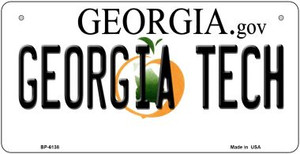 Georgia Tech Wholesale Novelty Metal Bicycle Plate BP-6138