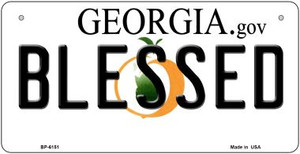 Blessed Georgia Wholesale Novelty Metal Bicycle Plate BP-6151