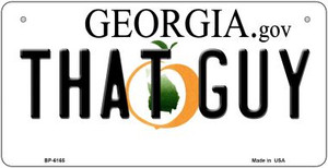 That Guy Georgia Wholesale Novelty Metal Bicycle Plate BP-6165