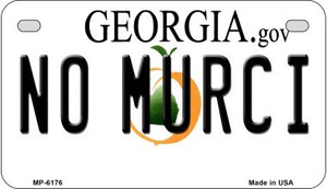 No Murci Georgia Wholesale Novelty Metal Motorcycle Plate MP-6176