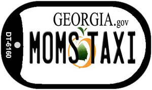 Moms Taxi Georgia Wholesale Novelty Metal Dog Tag Necklace DT-6160