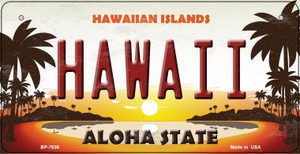 Hawaiian Islands Wholesale Novelty Metal Bicycle Plate BP-7836