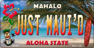 Just Maui'd Tiki Wholesale Novelty Metal Bicycle Plate BP-8825