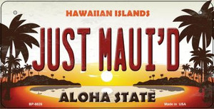 Just Maui'd Hawaiian Islands Wholesale Novelty Metal Bicycle Plate BP-8826