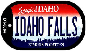 Idaho Falls Idaho Wholesale Novelty Metal Dog Tag Necklace DT-9864