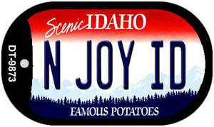 N Joy ID Idaho Wholesale Novelty Metal Dog Tag Necklace DT-9873