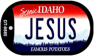 Jesus Idaho Wholesale Novelty Metal Dog Tag Necklace DT-9885