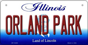Orland Park Illinois Wholesale Novelty Metal Bicycle Plate BP-10289