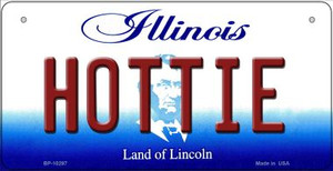 Hottie Illinois Wholesale Novelty Metal Bicycle Plate BP-10297
