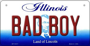 Bad Boy Illinois Wholesale Novelty Metal Bicycle Plate BP-10317