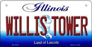 Willis Tower Illinois Wholesale Novelty Metal Bicycle Plate BP-10325