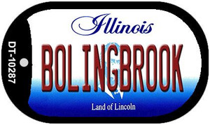 Bolingbrook Illinois Wholesale Novelty Metal Dog Tag Necklace DT-10287