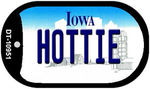 Hottie Iowa Wholesale Novelty Metal Dog Tag Necklace DT-10951