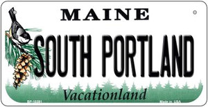 South Portland Maine Wholesale Novelty Metal Bicycle Plate BP-10391