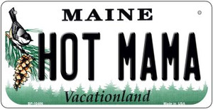 Hot Mama Maine Wholesale Novelty Metal Bicycle Plate BP-10406