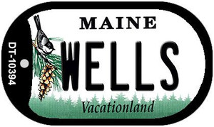 Wells Maine Wholesale Novelty Metal Dog Tag Necklace DT-10394