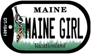 Maine Girl Wholesale Novelty Metal Dog Tag Necklace DT-10401