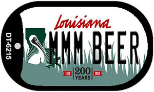 MMM Beer Louisiana Wholesale Novelty Metal Dog Tag Necklace DT-6215