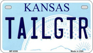 Tailgtr Kansas Wholesale Novelty Metal Motorcycle Plate MP-6599