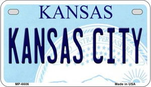 Kansas City Kansas Wholesale Novelty Metal Motorcycle Plate MP-6606