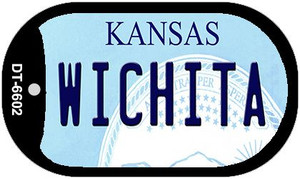Wichita Kansas Wholesale Novelty Metal Dog Tag Necklace DT-6602