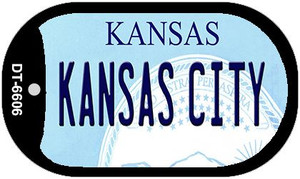 Kansas City Kansas Wholesale Novelty Metal Dog Tag Necklace DT-6606