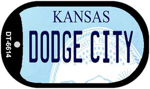 Dodge City Kansas Wholesale Novelty Metal Dog Tag Necklace DT-6614