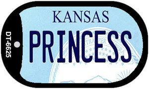 Princess Kansas Wholesale Novelty Metal Dog Tag Necklace DT-6625