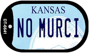 No Murci Kansas Wholesale Novelty Metal Dog Tag Necklace DT-6641