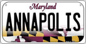 Annapolis Maryland Wholesale Novelty Metal Bicycle Plate BP-10464
