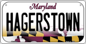 Hagerstown Maryland Wholesale Novelty Metal Bicycle Plate BP-10473