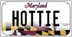 Hottie Maryland Wholesale Novelty Metal Bicycle Plate BP-10483