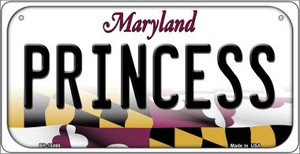 Princess Maryland Wholesale Novelty Metal Bicycle Plate BP-10495