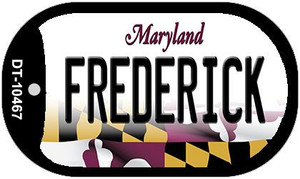Frederick Maryland Wholesale Novelty Metal Dog Tag Necklace DT-10467