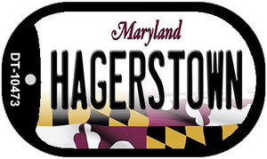Hagerstown Maryland Wholesale Novelty Metal Dog Tag Necklace DT-10473