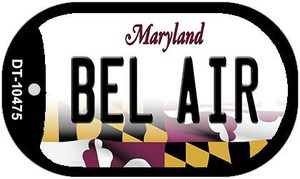 Bel Air Maryland Wholesale Novelty Metal Dog Tag Necklace DT-10475