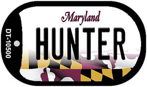 Hunter Maryland Wholesale Novelty Metal Dog Tag Necklace DT-10500