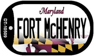 Fort McHenry Maryland Wholesale Novelty Metal Dog Tag Necklace DT-10509